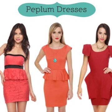 Peplum Clothing
