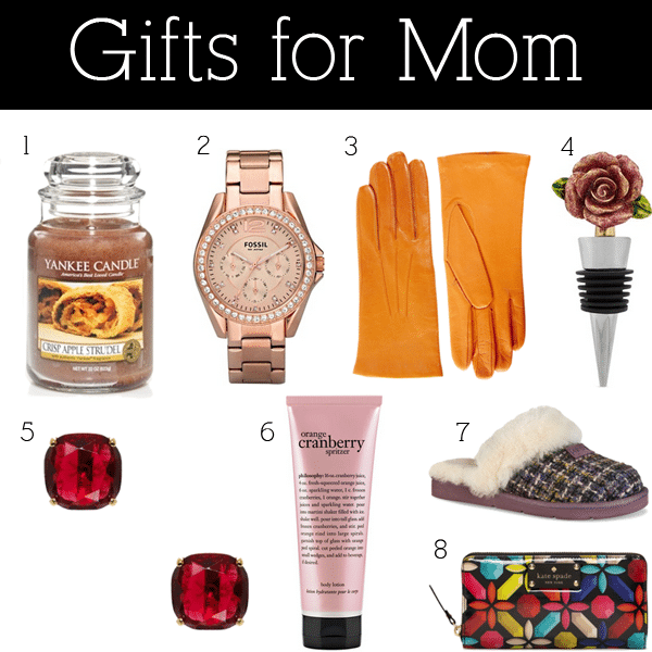 good christmas gift ideas for mom