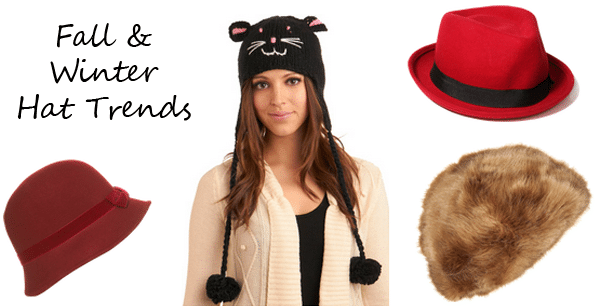 fall and winter hats