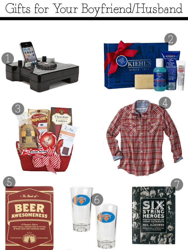 Great Gifts For Boyfriends