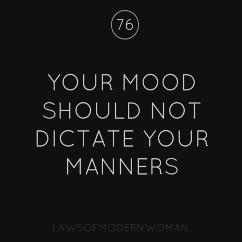 laws of a modern woman
