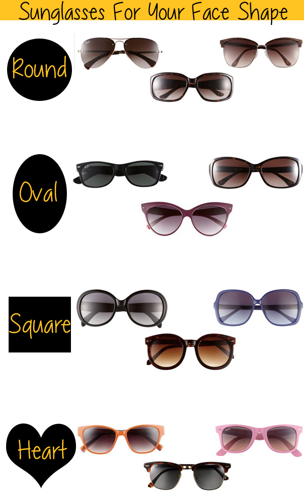 Sunglasses Frame For Round Face : Sunglasses for Your Face Shape Life Unsweetened