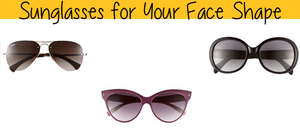 sunglasses for every face shape