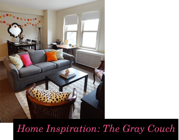 Home decor inspiration the gray couch life unsweetened - Decorating with gray furniture ...