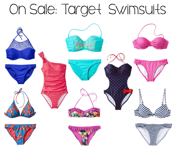 6a95b8c8a3 Target Swimsuit Sale! | Life Unsweetened