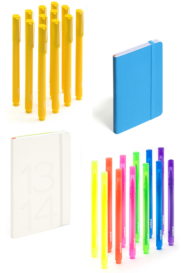 Colorful office accessories Boy Poppin Harrycanaryco Poppin Products Colorful Cute Office Accessories Life Unsweetened