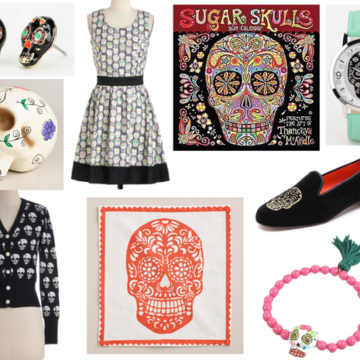 sugar skull items