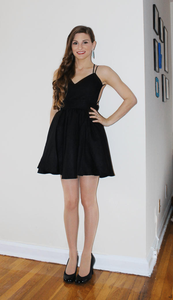 gambita black dress