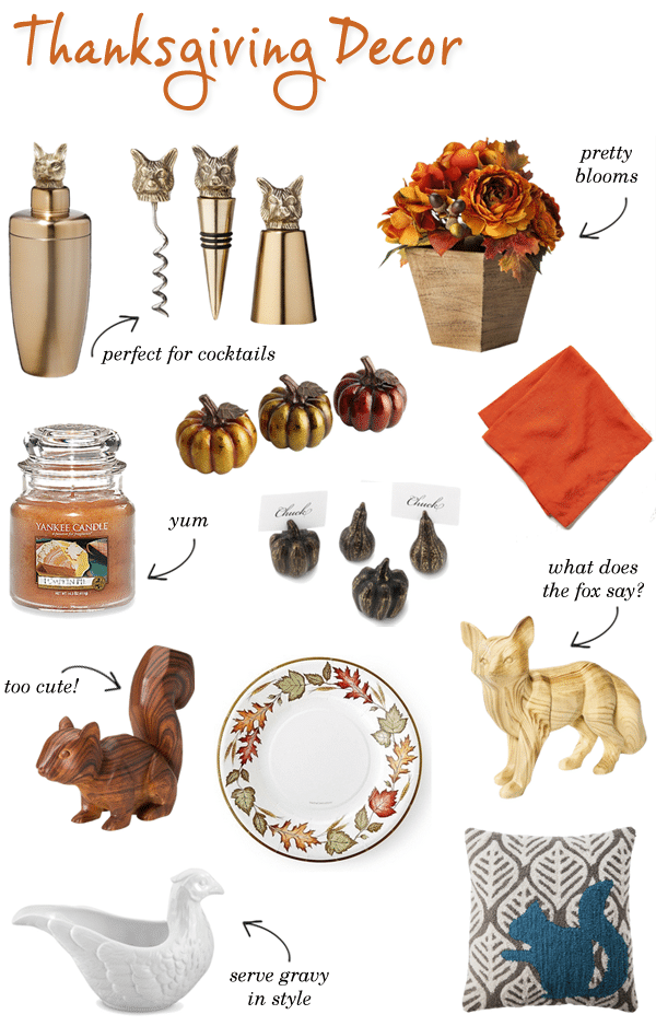 Thanksgiving home decor life unsweetened for Thanksgiving home decorations