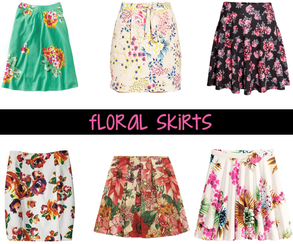 Think, H m floral skirt necessary
