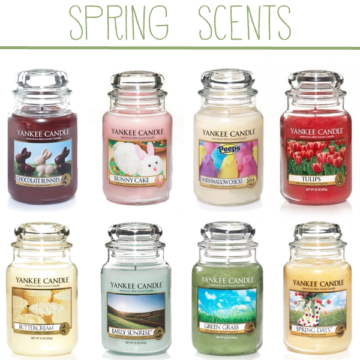 spring candle scents