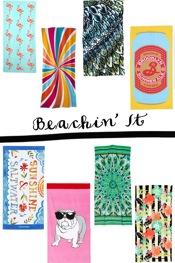 beach towels for summer