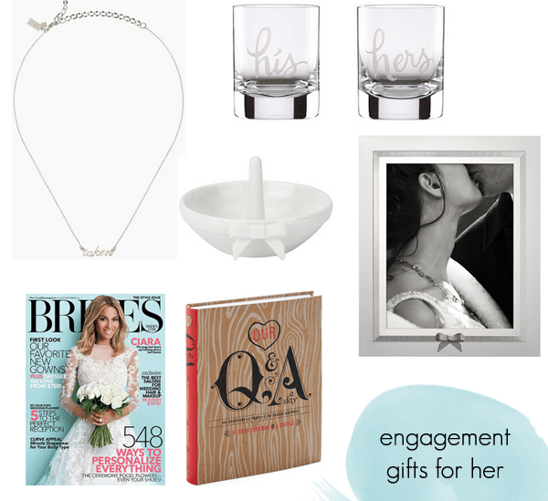 engagement gifts for her