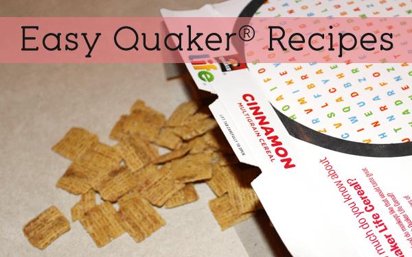 easy quaker recipes
