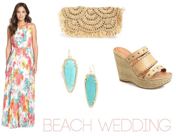Beach Wedding Guest Dress