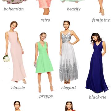 asos bridesmaid dress styles