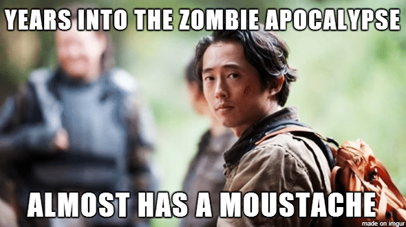 glenn walking dead meme questions i have while watching the walking dead life unsweetened