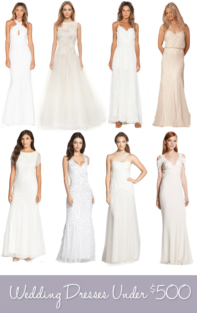 Wedding Dresses Under 500 Life Unsweetened