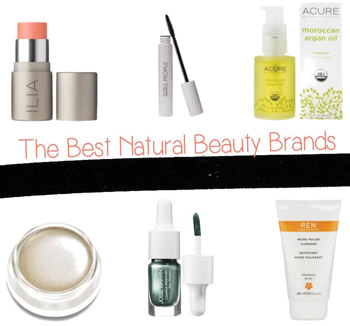 best natural beauty brands