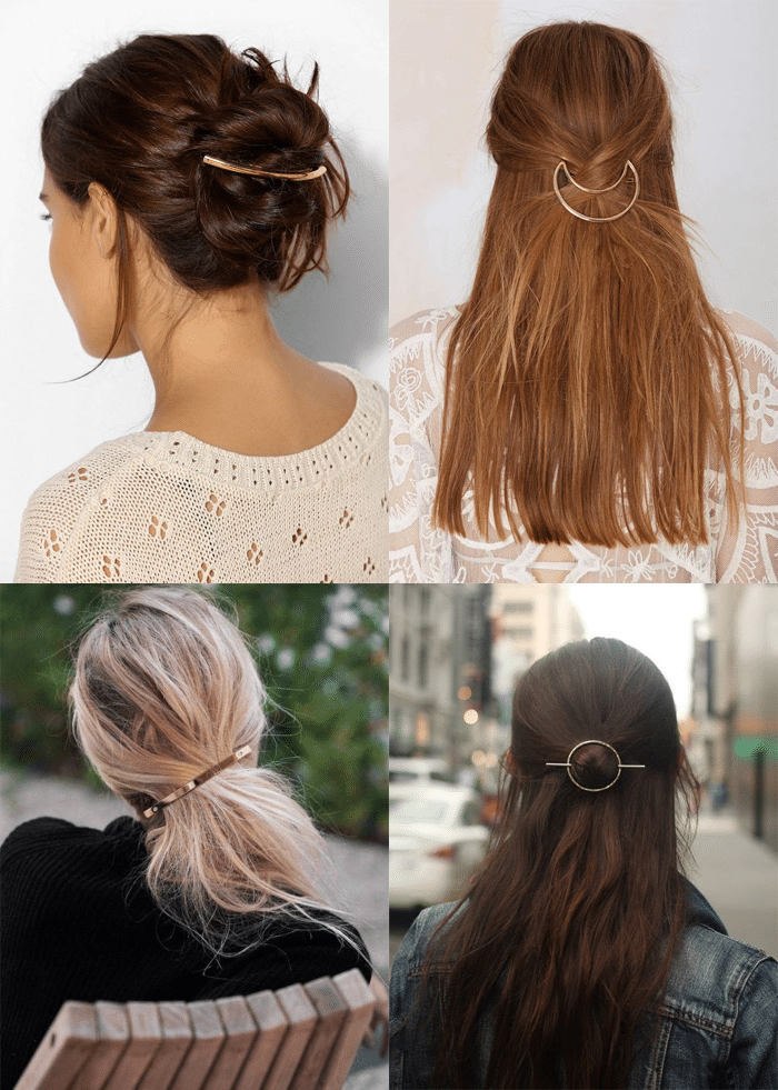 how to make barrettes stay in hair