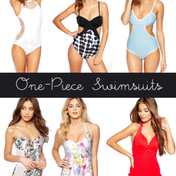 One-Piece Swimsuits That Are Actually Cute