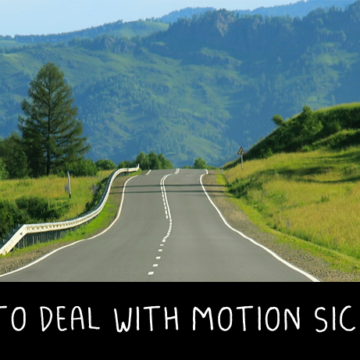 how to deal with motion sickness