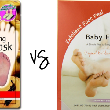Exfoliating Foot Peel Showdown: Baby Foot vs. Purederm