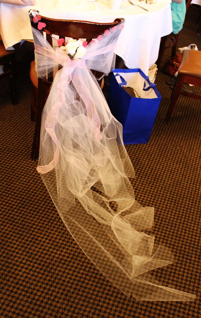 bridal veil decoration