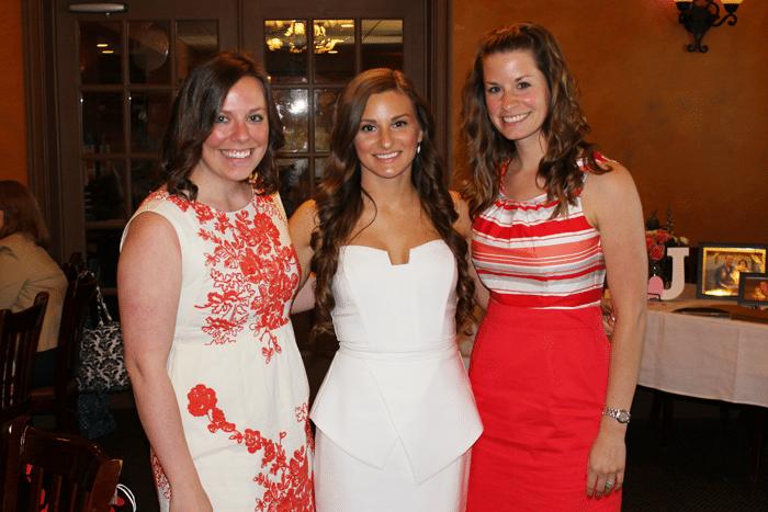 cousins at bridal shower