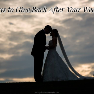5 Ways to Give Back After Your Wedding