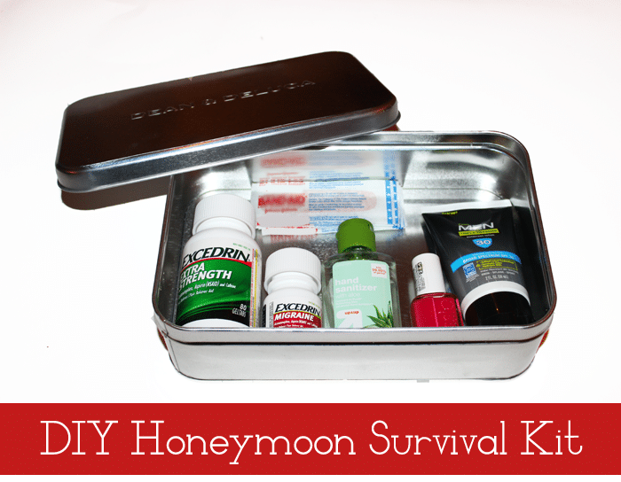 honeymoon survival kit DIY