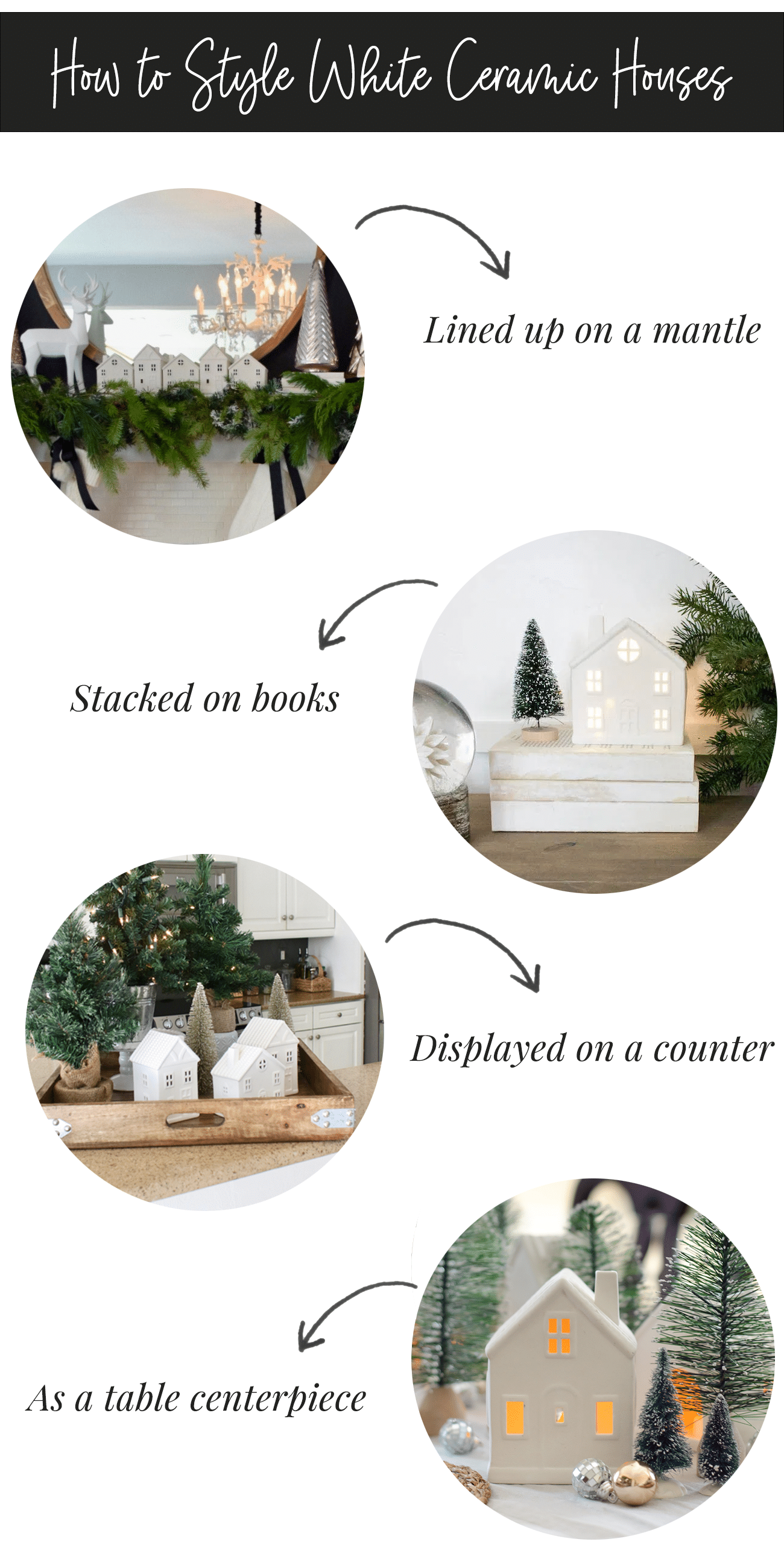 The Best White Ceramic Houses For Your Christmas Decor Life Unsweetened